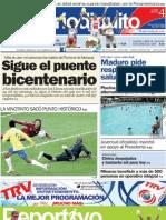 Edición Aragua 04/07/2011