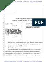 Rivera v US Summary Judgment (Mongols)