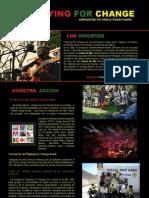 Dosier Prensa PLAYING FOR CHANGE castellano