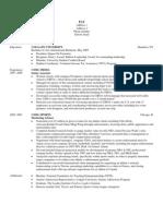 Resume 34 NYU Stern - Pat