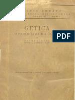 Vasile Parvan Getica O Protoistorie a Daciei Paginile 1100