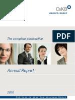 OeKB Annual Report 2010