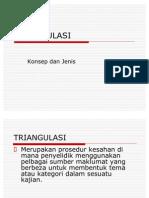 TRIANGULASI