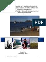 Diagnóstico Ambiental y Socioeconómico de la_  Región MarinaCostera de Bahía de Kino Isla_             Tiburón, Sonora Méxi