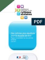Rythmes Scolaires Rapport-d-Orientation 184671