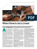 When three is not a crowd - The Guardian - 19.06.2007