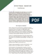 1920 - Tratatul de La Trianon