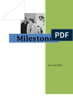Shaheed Sayyid Qutub - Milestones