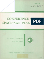 Conference on Space Age Planning