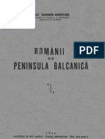Vasile Diamandi Aminceanul – Românii din Peninsula Balcanicã