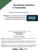Aplicación de sistemas mecánicos de Transmisión