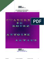 Artaud, Antonin - Cuadernos de Rodez