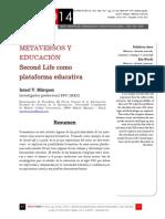 Icono14. A9/V2. Metaversos y educación