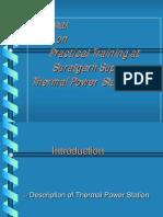 Semirar Report on Training at Suratgarh Thermal