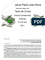Escola Estadual Padre João Neiva  PPP2011