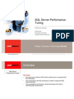 SQL Server Performance Tuning - LRDNUG Tech Expo