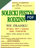Plakat Frank 2011