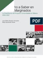 ElDerechoaSaberenGruposMarginados-LaExperienciadelProyectoComunidades