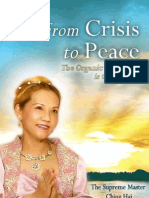 From Crisis to Peace  The Organic Vegan Way is the Answer