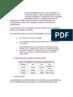 Lectura de Soluciones Equilibrio Quimico y pH