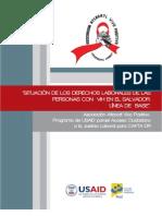 Atlacatl Vivo Positivo - Situación de Derechos Laborales de Personas con VIH