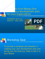 Fundraising Zone Strategic Planning