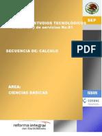 Secuencia Didactica de Calculo _diferencial