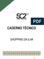 Caderno Técnico Shopping da Ilha