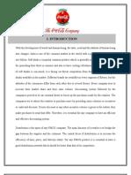 Project Report@Coke