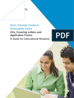 International CV Guide 2010