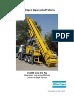 1. CS3001 U-Deck Operator's Instructions