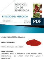 Estudio Mercado Paprika