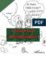 El Valor de La Responsabilidad Ok