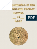 The Explanation of the Beautiful Names of Allah