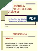Pneumonia & Suppurative Lung Diseases