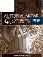 Al- Fiqh Al- Akbar (The Great Law)