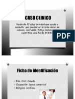caso clinico Sindrome metabolico