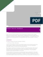 PT Firearms Security Handbook1