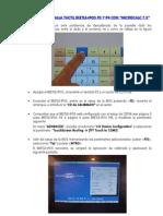 02.- Procedimiento CALIBRADO Pantalla Tactil BEETLE iPOS