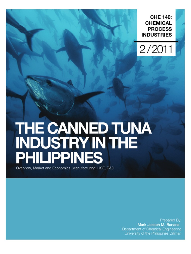 The Canned Tuna Industry in the Philippines 4 | Canning | Pressure ...