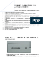 DISEÑO MATRICERIA CORTE 7