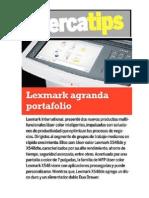 Lexmark agranda portafolio