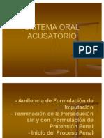 Sistema Oral Acusatorio