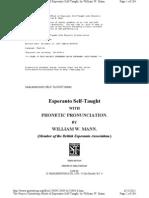 Esperanto Self-Taught With Phonetic Pronunciation Www.gutenberg.org_files_23984_23984-H_23984-h