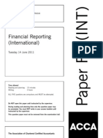 F7-FINANCIAL REPORTING- ACCA ( INT) 2011 Jun