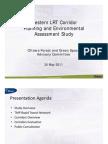 Western LRT Corridor Planning & Environmental Assessment Study