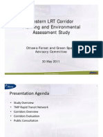 Western LRT Corridor Planning & Environmental Assessment Study