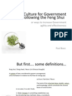 Feng Shui of Government Innovation