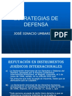 ESTRATEGIAS DE DEFENSA