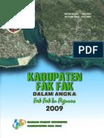 Kab. Fakfak Dalam Angka 2009